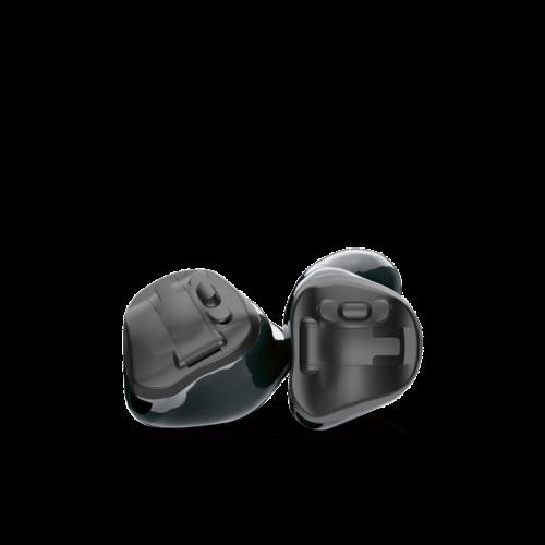 Phonak Virto Black ITC custom hearing aids