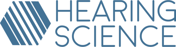 Hearing Science logo with text